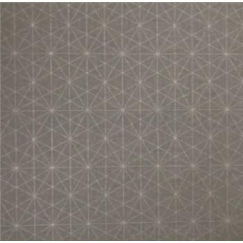 Vliesové tapety na stenu Einfach Schoner 3 geometrický vzor na sivom podklade