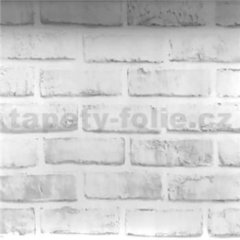Samolepiace fólie tehla klasik sivá 45 cm x 10 m
