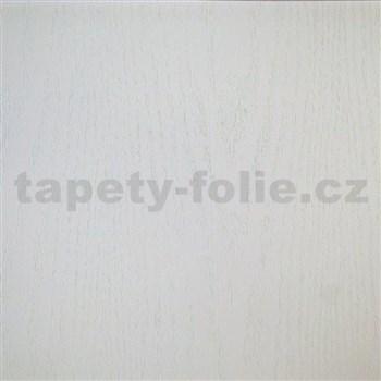 Samolepiace tapety biele drevo - 45 cm x 15 m