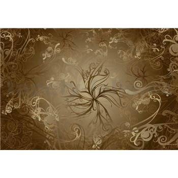 Vliesové fototapety Gold, rozmer 368 cm x 254 cm