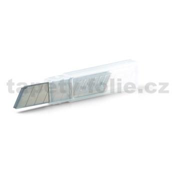 Náhradné ostrie do odlamovacieho noža 10 ks / 18 mm