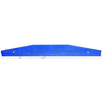 Lišta na orezanie tapiet, nerez, šírka 58 cm