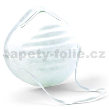 Jednorazová hygienická maska zabraňujúca prenosu z úst