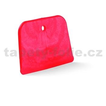 Špachtľa plastová, mäkká stierka, 12 x 7 cm
