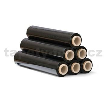 Stretch fixačná fólia BLACK, čiernastrečová fólia,šírka 50 cm, 2,2kg, 23my