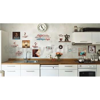 Samolepky na stenu Coffee