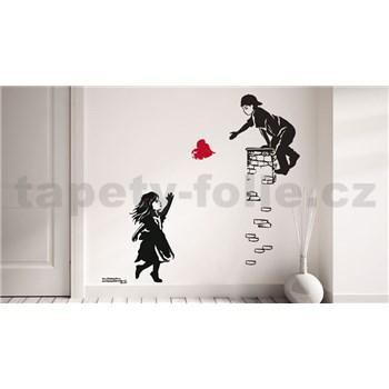 Samolepky na stenu láska