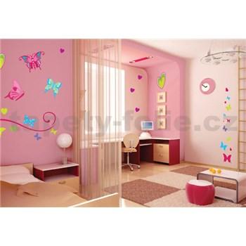 Samolepky na stenu motýle