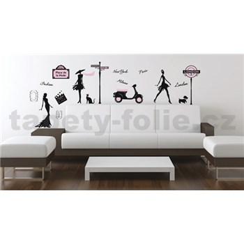 Samolepky na stenu móda
