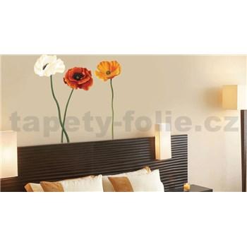 Samolepky na stenu kvety maku