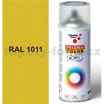 Sprej béžový lesklý 400ml, odtieň RAL 1011 farba hnedo béžová lesklá