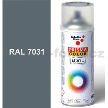 Sprej sivý lesklý 400ml, odtieň RAL 7031 farba modro-sivá lesklá