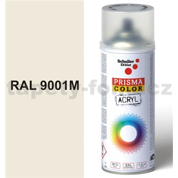 Sprej krémový matný 400ml, odtieň RAL 9001 farba krémovo matná