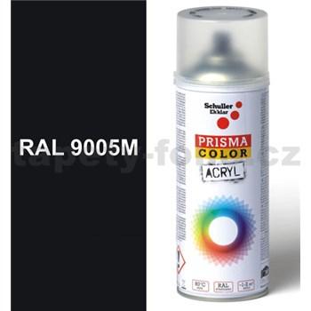 Sprej čierny matný 400ml, odtieň RAL 9005 farba čierna matná