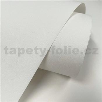 Vliesové tapety na stenu IMPOL TRADE jemná štruktúra omietky krémovo biela MEGA ROLL 25m