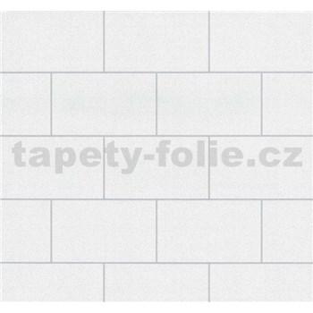 Vinylové tapety na stenu Easy Wall obklad biely s leskom