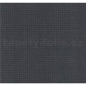 Vinylové tapety na stenu Easy Wall mozaika sivá s leskom