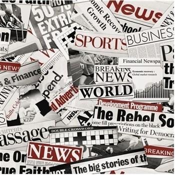 Papierové tapety newspaper
