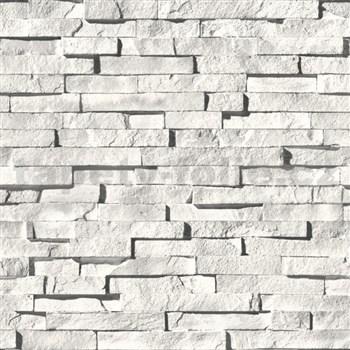Vinylové tapety Virtual Reality kamenná stena sivá