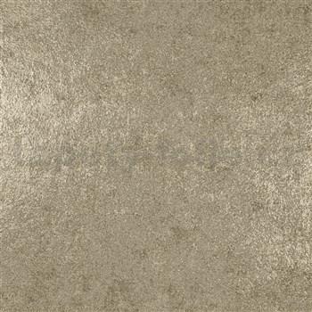 Luxusné vliesové tapety na stenu IMPOL Galactik metalická zlatá, štruktúra zlatá omietkovina
