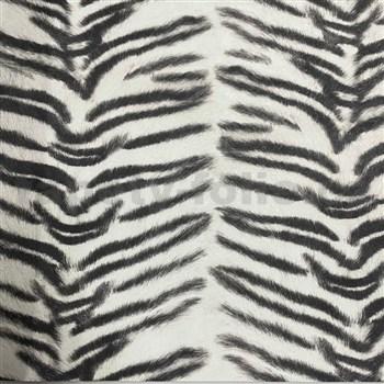 Vliesové tapety na stenu IMPOL Kaleidoscope zebra čierno-biela