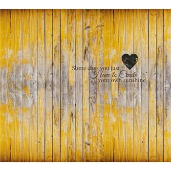 Luxusné vliesové fototapety dosková stena 300 x 270cm