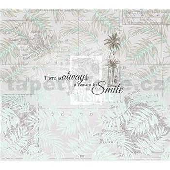 Luxusné vliesové fototapety palmy 300 x 270cm