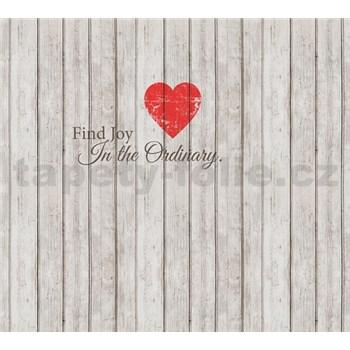 Luxusné vliesové fototapety srdce 300 x 270cm