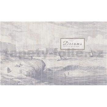 Luxusné vliesové fototapety more a lodě 450 x 270cm
