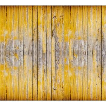 Luxusné vliesové fototapety dosková stena BEZ TEXTU 300 x 270cm