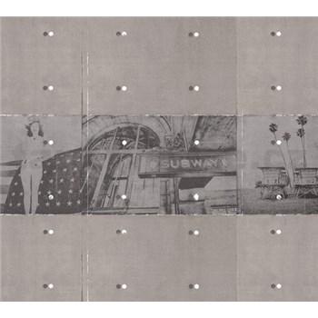 Luxusné vliesové fototapety Vintage BEZ TEXTU 300 x 270cm