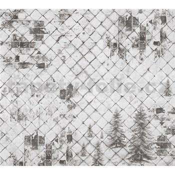 Luxusné vliesové fototapety kachľová stena BEZ TEXTU 300 x 270cm