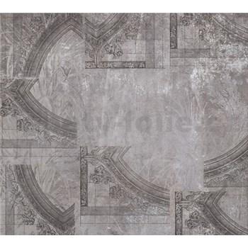Luxusné vliesové fototapety omietkovina s ornamentami BEZ TEXTU 300 x 270cm