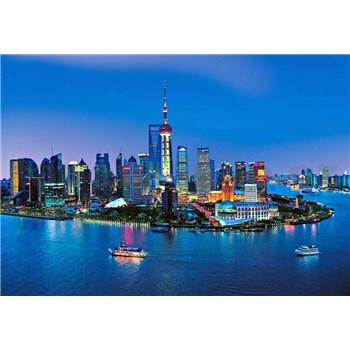 Fototapety Shanghai Skyline, rozmer 366 x 254 cm