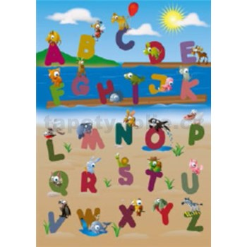 Fototapety zvířecí abeceda, rozmer 183 x 254 cm