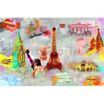 Fototapety Around the World, rozmer 366 x 254 cm