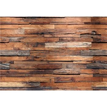 Fototapety drevená stena Wooden Wall, rozmer 366 x 254 cm