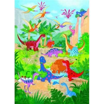Fototapety Dino World, rozmer 183 x 254 cm - POSLEDNÉ KUSY