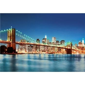 Vliesové fototapety New York East River, rozmer 366 x 254 cm - POSLEDNÉ KUSY