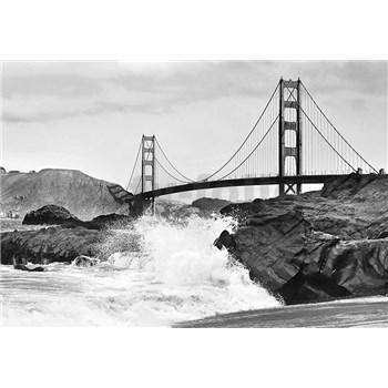Vliesové fototapety Golden Gate Bridge, rozmer 366 x 254 cm