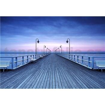 Vliesové fototapety molo Pier At The Seaside, rozmer 366 x 254 cm