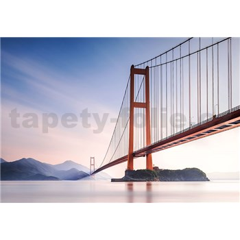 Vliesové fototapety Xihou Bridge, rozmer 366 x 254 cm