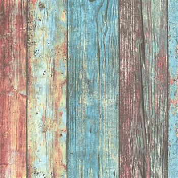 Vliesové tapety IMPOL Wood and Stone 2 farebné drevené dosky
