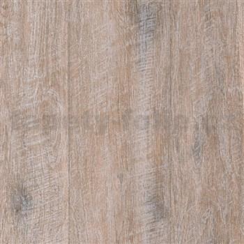 Vliesové tapety IMPOL Wood and Stone 2 drevo s patinou hnedé
