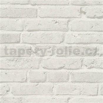 Vliesové tapety IMPOL Wood and Stone 2 tehly sivé