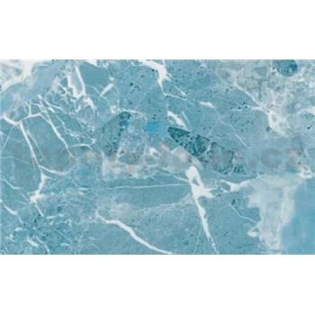 Samolepicí tapety mramor Arezzo modrý - metráž, šírka 67,5 cm, návin 15m,