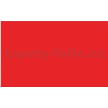 Samolepiace tapety - červená matná - 45 cm x 15 m