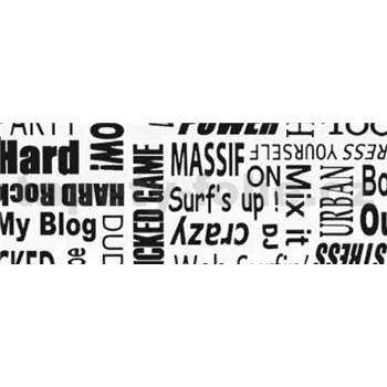 Samolepiace tapety text - 90 cm x 15 m