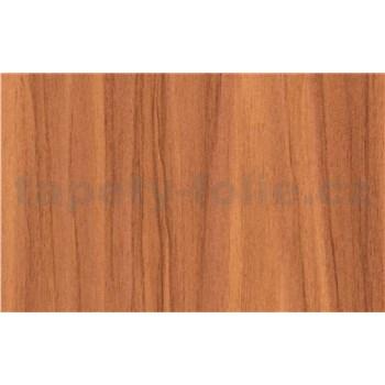 Samolepiace tapety čerešňové drevo - 90 cm x 15 m