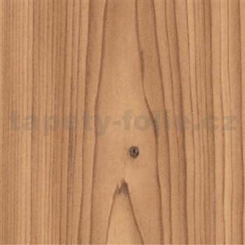 Samolepiace tapety smrekové drevo svetlé - renovácia dverí - 90 cm x 210 cm